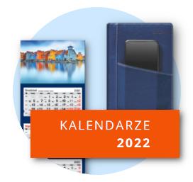Kalendarze 2022 już w sprzedaży
