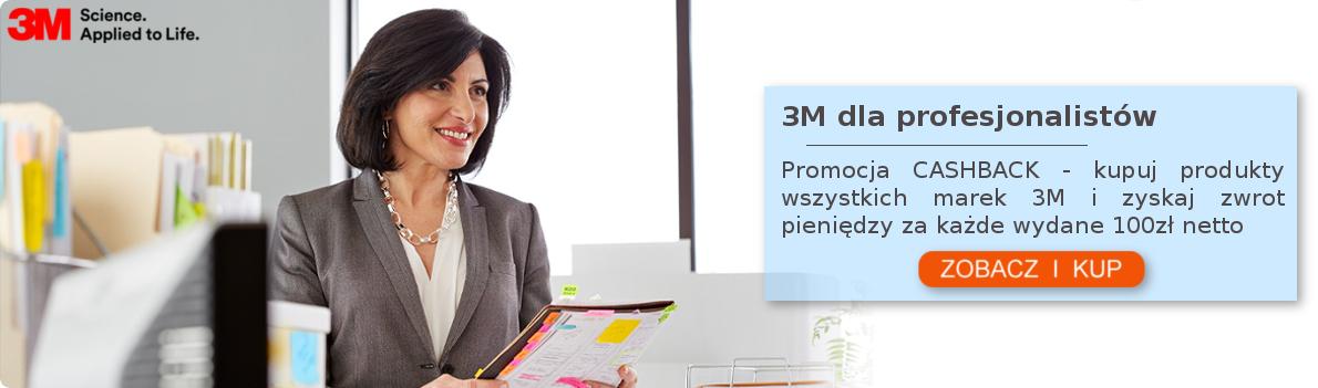Kupuj produkty marek 3M i zyskaj zwrot 10zł w bonie Sodexo za kazde wydane 100zl netto!