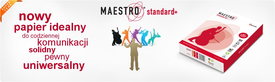 Poznaj nowy idealny papier Maestro standard plus