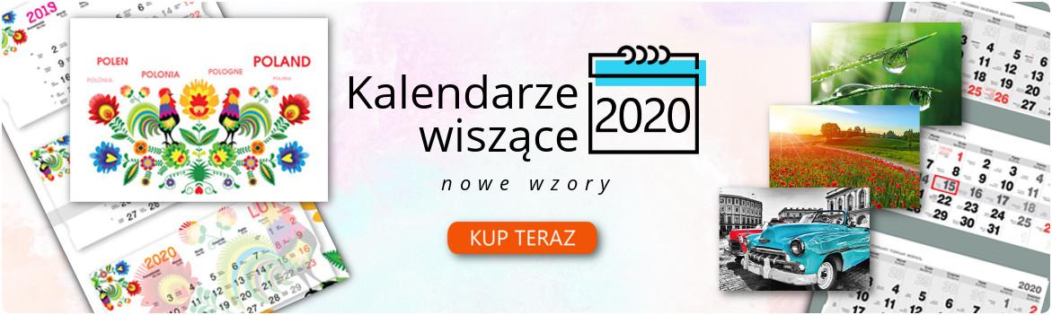Kalendarze wiszace na 2020 rok juz w sprzedazy