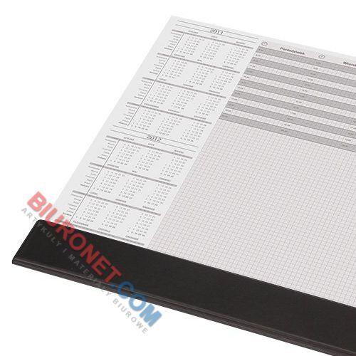 Biuwar blokowy Panta Plast z listwą, 30 kartek, podkładka na biurko z kalendarzem 590 x 395 mm