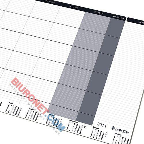 Biuwar z widokiem na miesiąc Panta Plast, blok 24 kartki, podkładka na biurko 47 x 33 cm