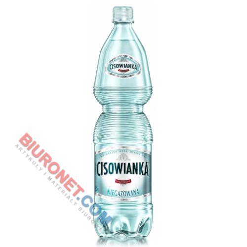 Cisowianka 1,5L x 6 sztuk, woda mineralna w butelkach PET niegazowana