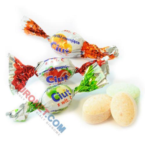 Cukierki pudrowe Ciut Jedność, musujące, owocowe
