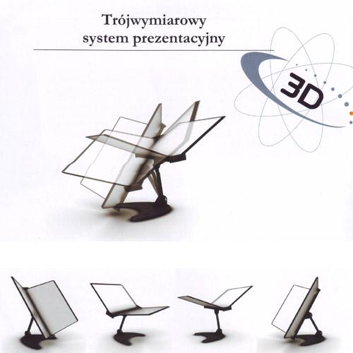 Element wielofunkcyjny 3D z ramkami. Seria Tarifold Technic.