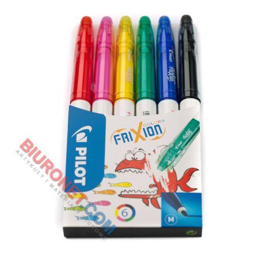 Flamaster Pilot FriXion Colors SW-FCS, wymazywalny, zestaw w etui