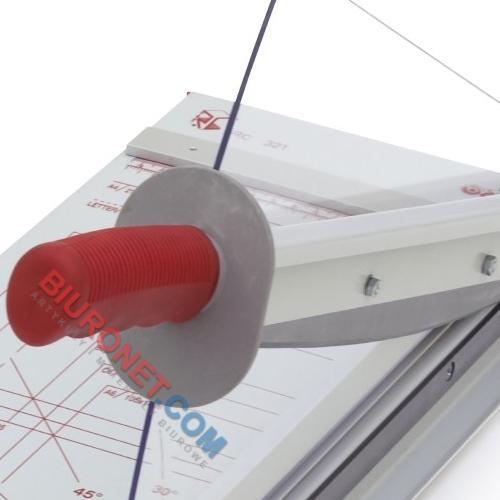Gilotyna RC Systems RC 321N do cięcia papieru, dla plików do 2,4mm do formatu A4