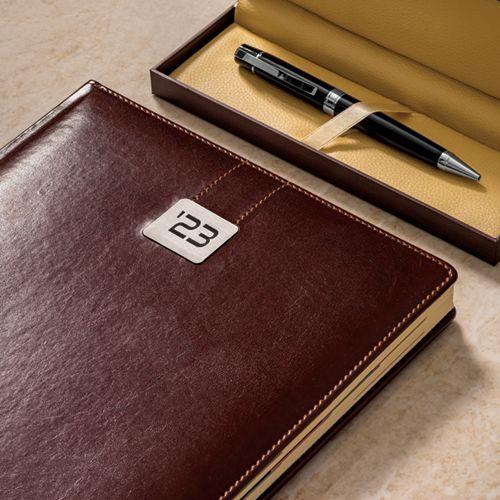 Kalendarz książkowy 2019, format A4, rozkład dzienny