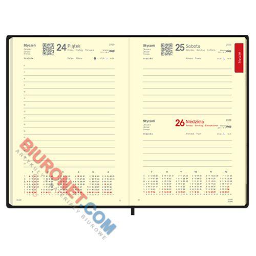Kalendarz książkowy 2020, format B5, rozkład dzienny