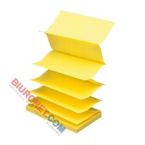 Karteczki harmonijkowe Post-it Super Sticky Z-Notes, bloczek 90 kartek