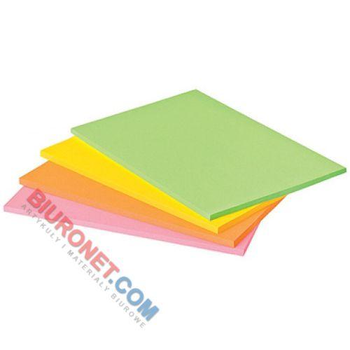 Karteczki Post-it Super Sticky Meeting Notes, komplet 4 bloczków po 45 kartek