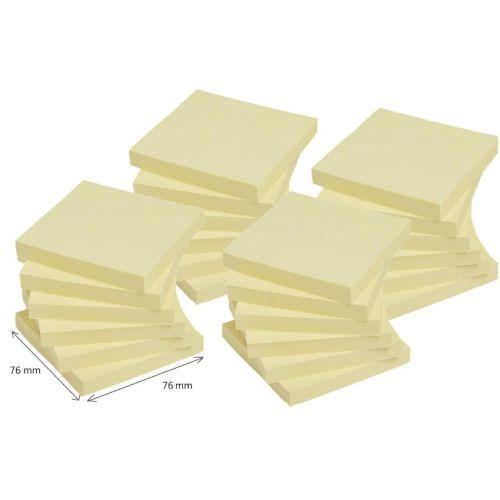 Karteczki samoprzylepne Post-it Super Sticky 76x76 mm, żółte 24 bloczki x 90 kartek