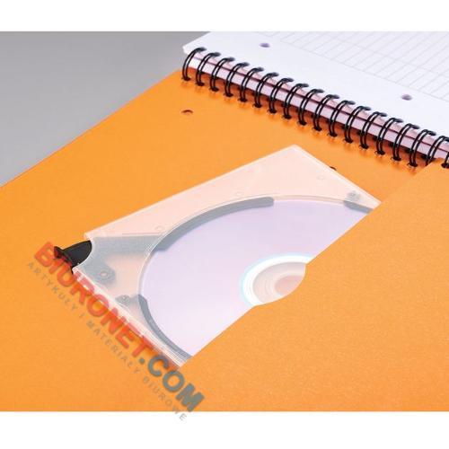 Kołozeszyt Oxford International Activebook A4+, 80 kartek, plastikowa oprawa