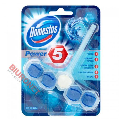 Kostka toaletowa Domestos Power5, zawieszka do WC, miks zapachów