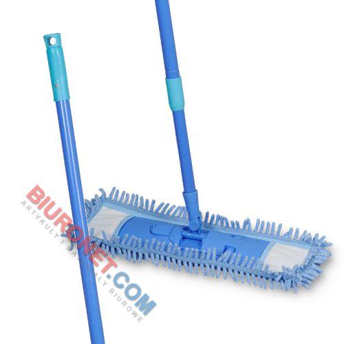 Mop płaski Spontex MicroWiper Multii, z mikrofibry typu chenille kij + mop MicroWiper Multi
