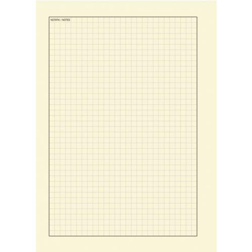 Notatnik Donau Life 165x210mm, 80 kartek w kratkę, organizer