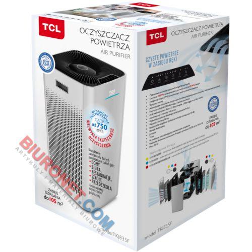 Oczyszczacz powietrza TCL TKJ 835F, wydajny do dużych pomieszczeń