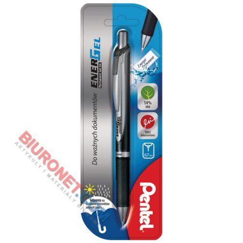 Pióro kulkowe Pentel Energel BLP77 0,7mm, automatyczne, tusz dokumentowy