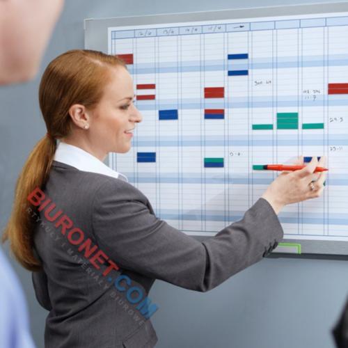 Planer miesięczny Nobo Performance Plus, tablica suchościeralna