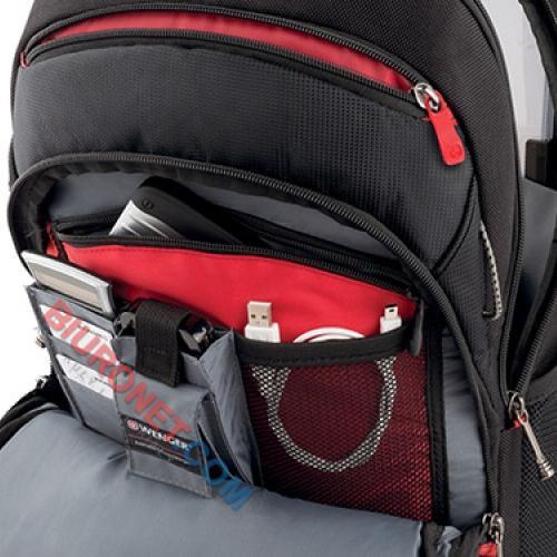 Plecak na laptop Wenger Legacy, lekki i komfortowy, czarny