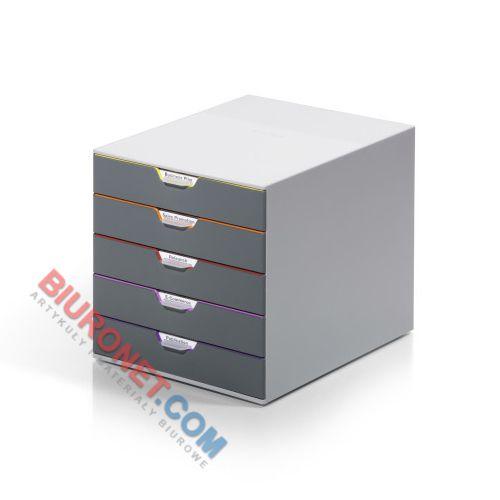 Pojemnik Durable Varicolor z kolorowymi szufladami