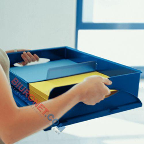 Półka na dokumenty Leitz Plus Sorty Jumbo, duża tacka biurkowa A3, wysokość 125mm