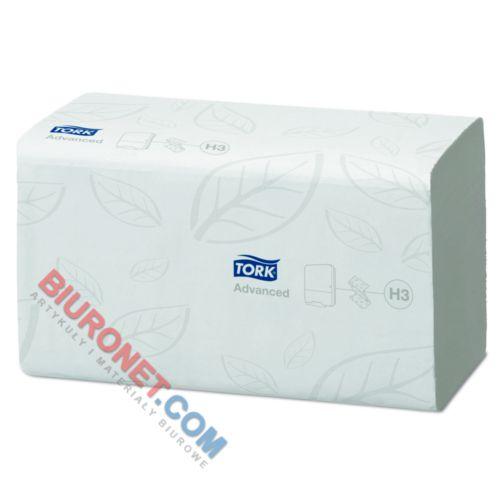 Ręczniki Tork Advanced Premium Soft H3, składane typu Z, do dozowników [2W BI CEL]