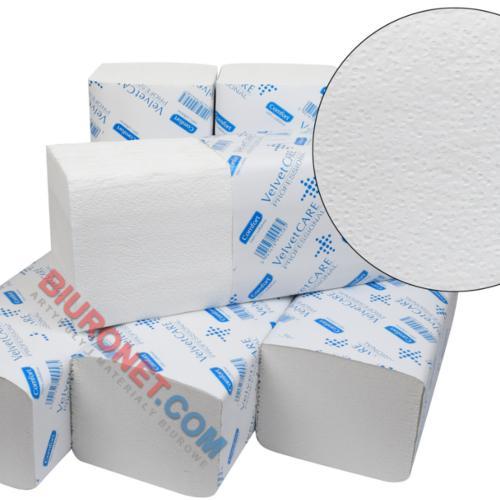 Ręczniki Velvet CARE Professional V-Fold, składane typu Z, do dozowników [2W BI CEL]