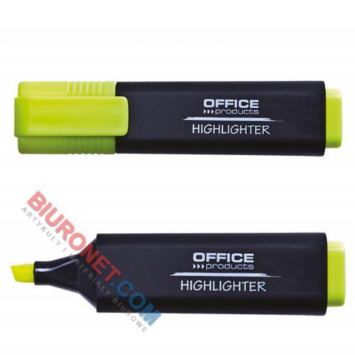 Zakreślacz fluorescencyjny Office Products, szerokość linii 1-5mm, 10 sztuk