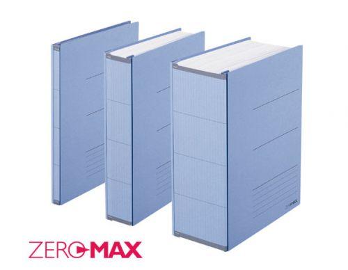 ZeroMAX, teczka skoroszytowa Plus Corporation, segregator kolor beżowy