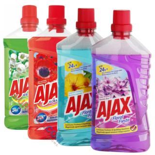 Ajax Floral Fiesta, uniwersalny płyn czyszczący, pojemność 1L