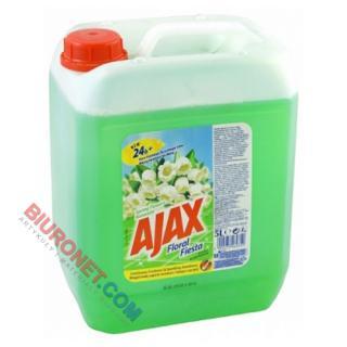 Ajax Floral Fiesta, uniwersalny płyn czyszczący, pojemność 5L