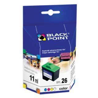 Alternatywny tusz Black Point Lexmark BPL 26. 11 ml.