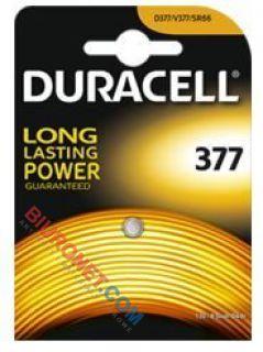 Bateria guzikowa Duracell, specjalistyczna srebrowo-cynkowa,377
