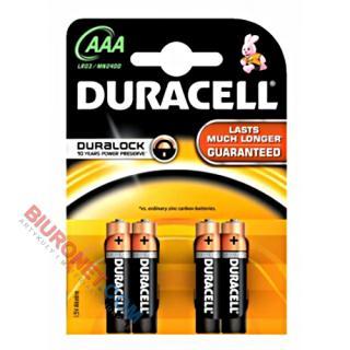 Baterie Duracell Basic AAA LR03, 4 szt
