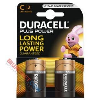Baterie Duracell Basic R14, 2szt