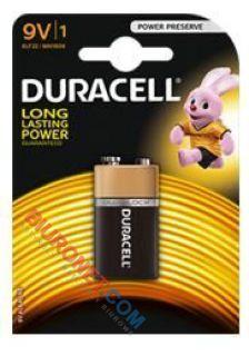 Baterie Duracell Basic V9, alkaliczne