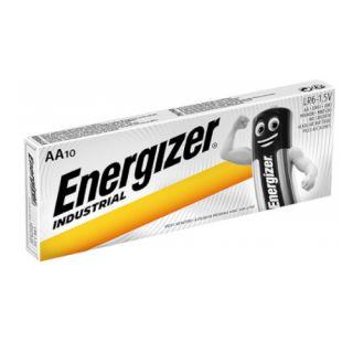Baterie Energizer Industrial, paluszki alkaliczne,10 sztuk