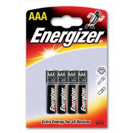 Baterie Energizer, paluszki alkaliczne, blister 4 sztuki