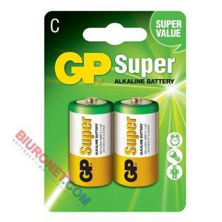 Baterie GP Super Alkaline C LR14, alkaliczne