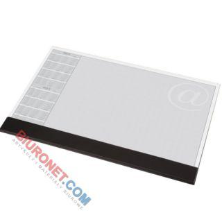 Biuwar uniwersalny Panta Plast z listwą, blok 30 kartek, podkładka na biurko z kalendarzem 47 x 33 cm