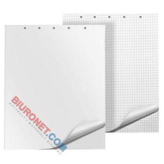 Blok do flipchartów Interdruk, biały papier w kratkę 64 x 100 cm 20 kartek