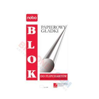 Blok do flipchartów Nobo, papier gładki, 40 arkuszy
