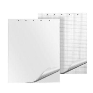 Blok do flipchartów Q-Connect, biały papier w kratkę 65 x 100 cm 20 kartek