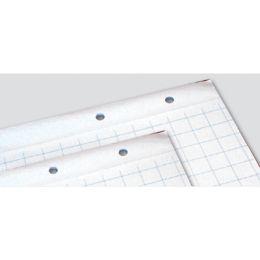 Blok do flipchartów Unipap, biały papier w kratkę, 20 arkuszy