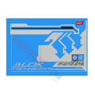 Blok techniczny Unipap, 10 kartek