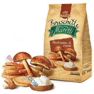 Bruschette Maretti, chrupiące krążki pieczywa 70g