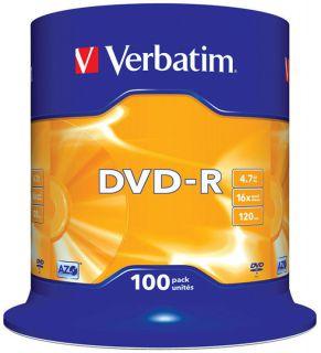 Cake DVD-R Verbatim, płyty 4,7GB 16x
