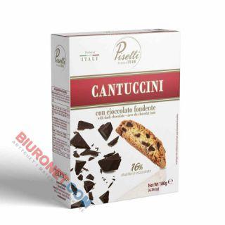 Cantuccini Piselli 180g, włoskie ciastka migdałowe