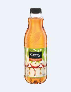 Cappy sok 100%, w plastikowa butelka 1L smak jabłkowy